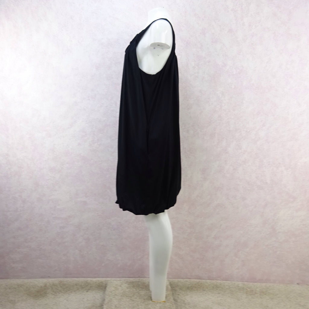 2000s Knit Jersey Gathered Sleeveless Shiftk