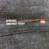 2000s DIESEL Industrial Denim Vest, Detail 2