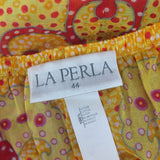 2000s La Perla Printed Cotton Tunic, Label