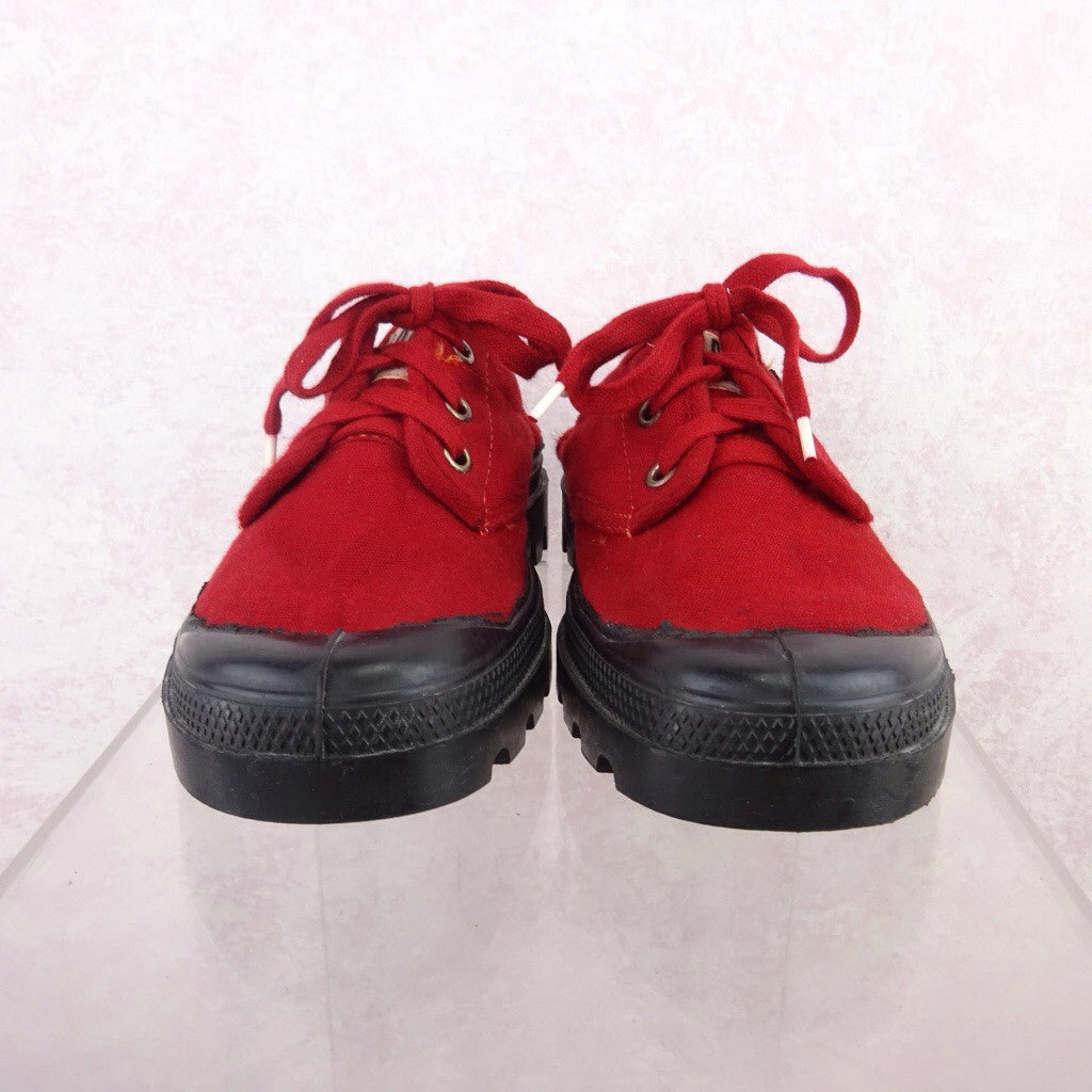 2000s Red Canvas Sneakers NWT