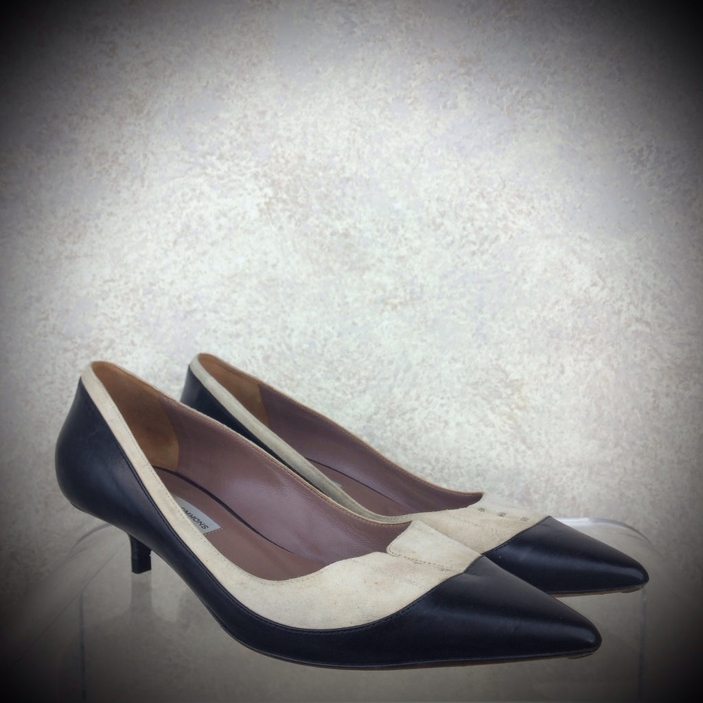 2000s TABITHA SIMMONS Two-Tone Pumps, NOS