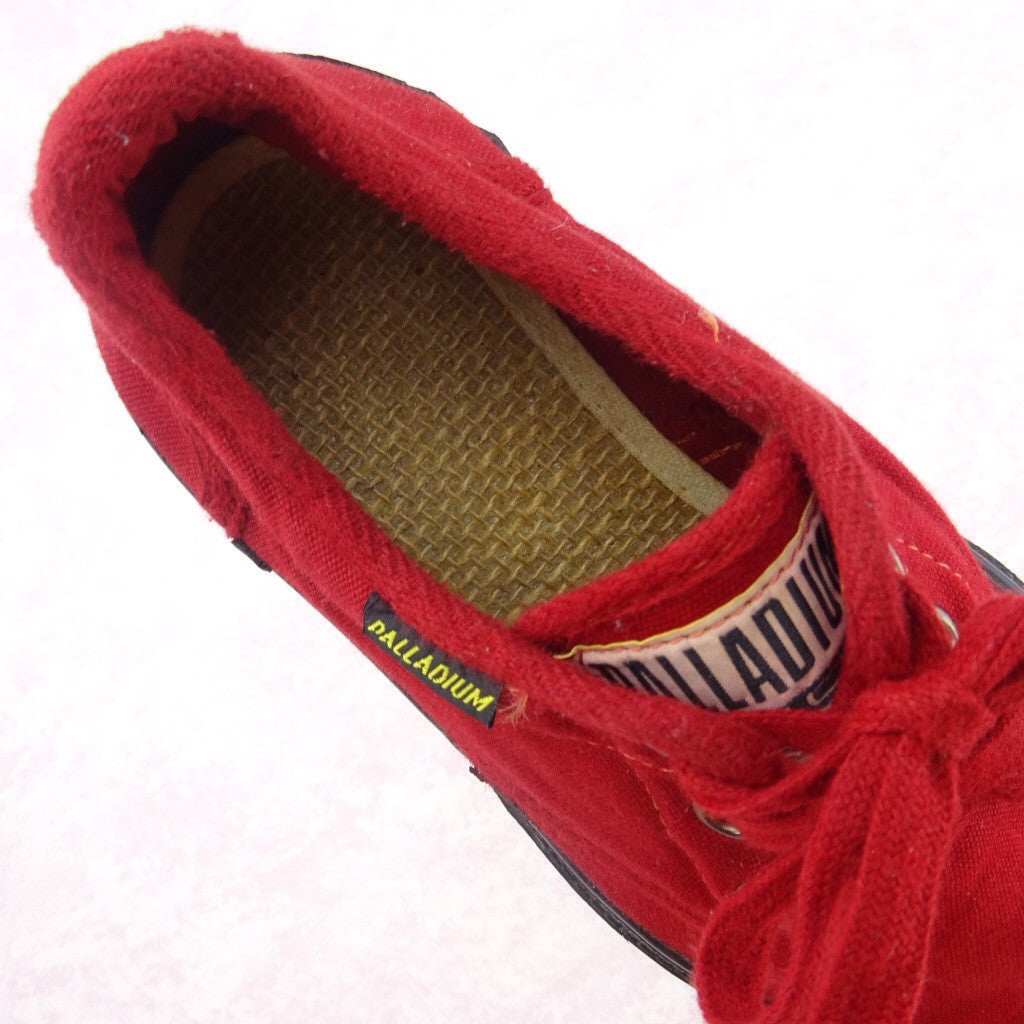 2000s Red Canvas Sneakers NWT  frc