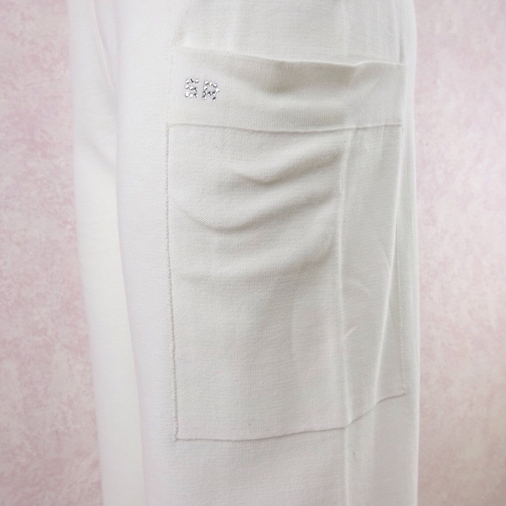 2000s SONIA RYKIEL White Cotton Sweat Pants fdd