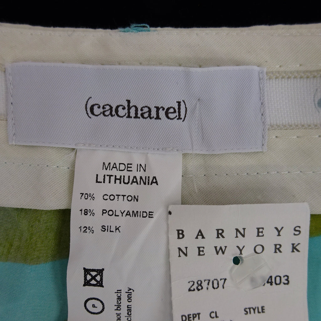2000s CACHAREL Floral Cropped Pants NWT label