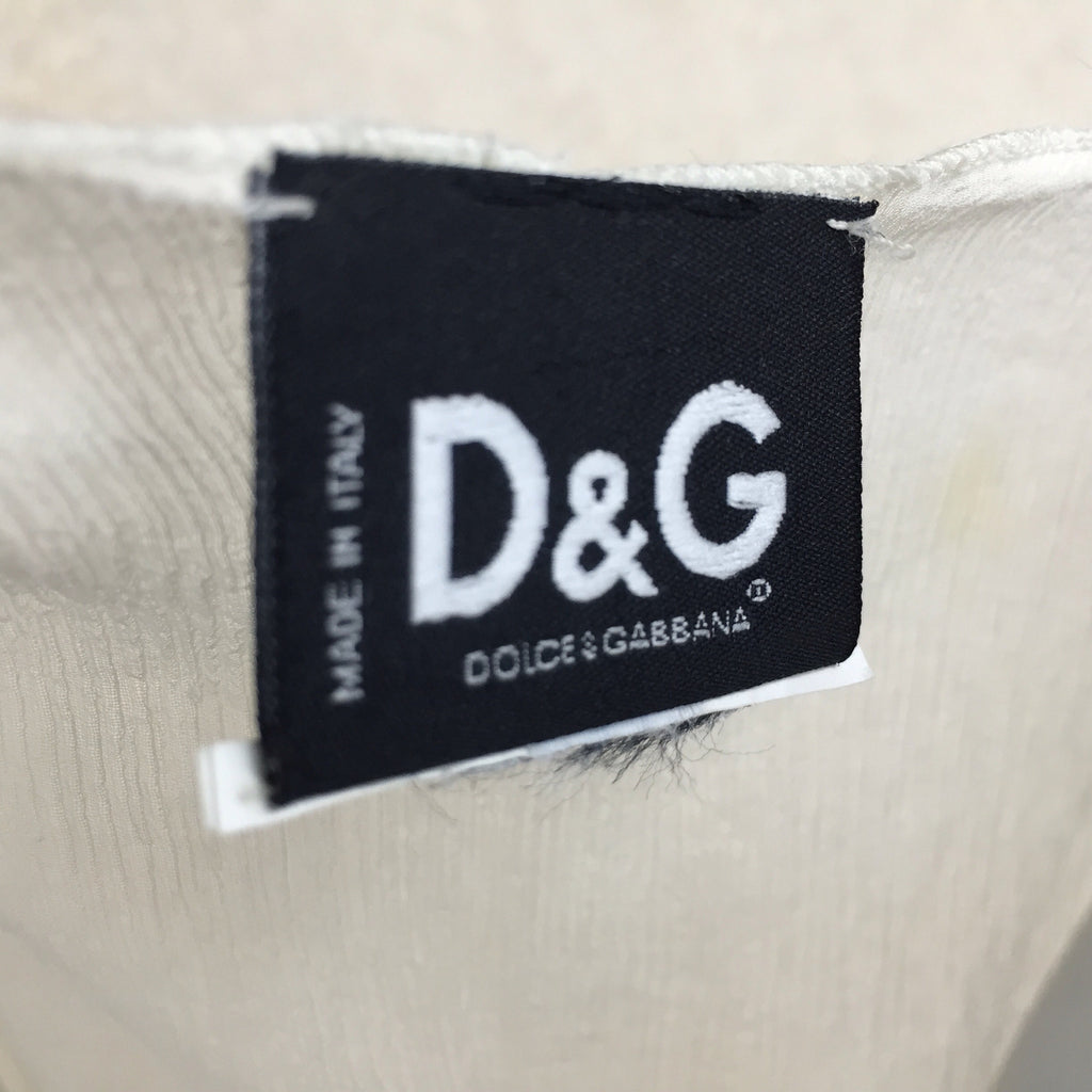 2000s DOLCE & GABBANA Silk Top, NOS labelk