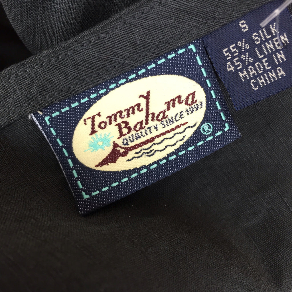 2000s TOMMY BAHAMA Silk/Linen Wrap Skirt, Label
