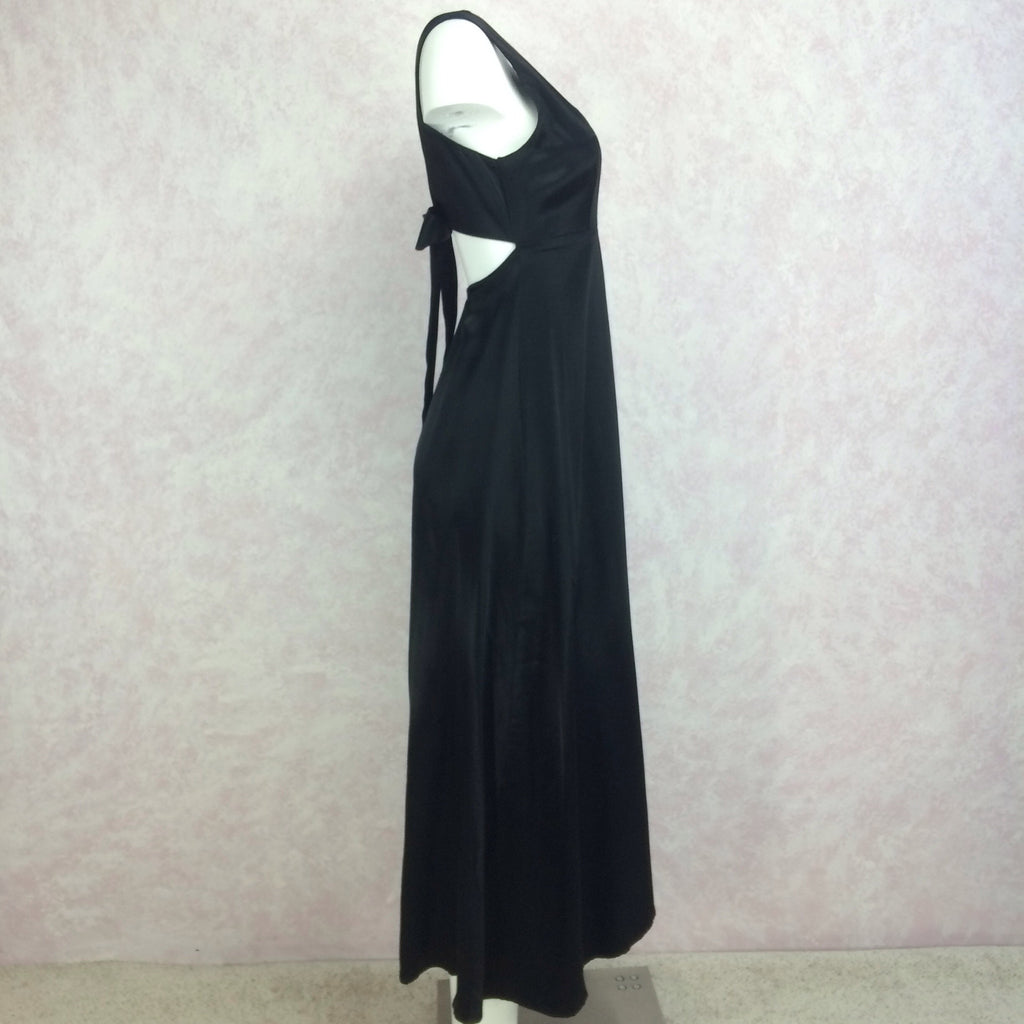 2000s TRILOGY Sexy Open Tie Back Dress, Side
