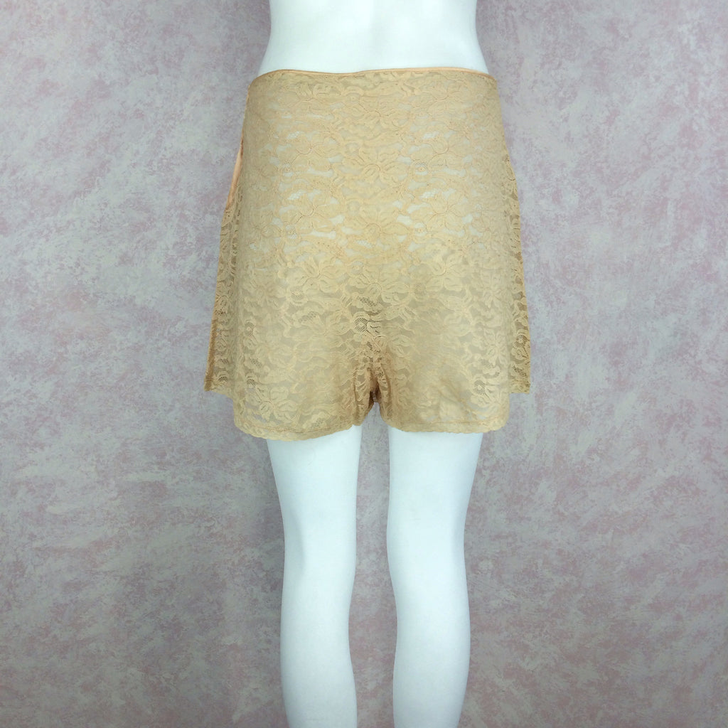 Vintage 40s Lace Tap Pants w/Fig Leaf, Back