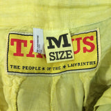 The People of the Labrynths Tie Dye Slacks label