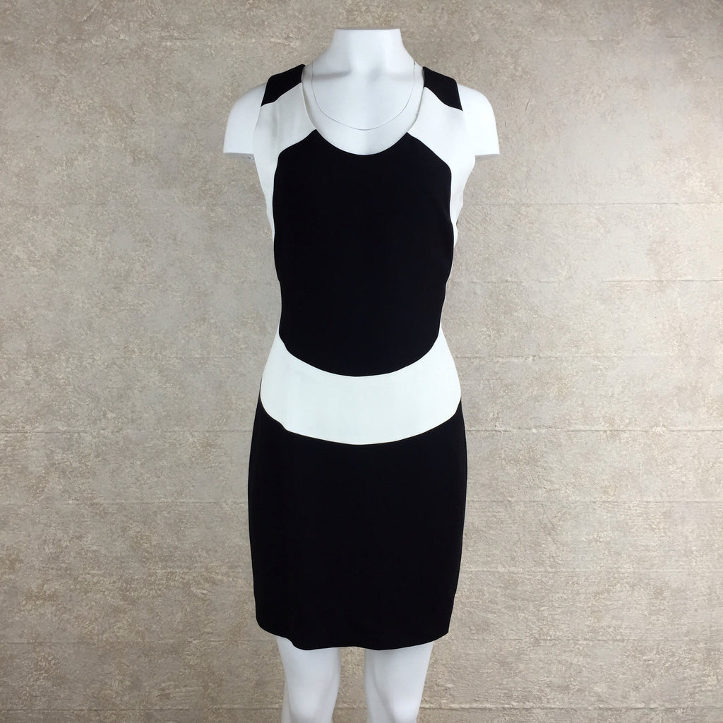 2000s Nicole Miller Color Block Dress, front