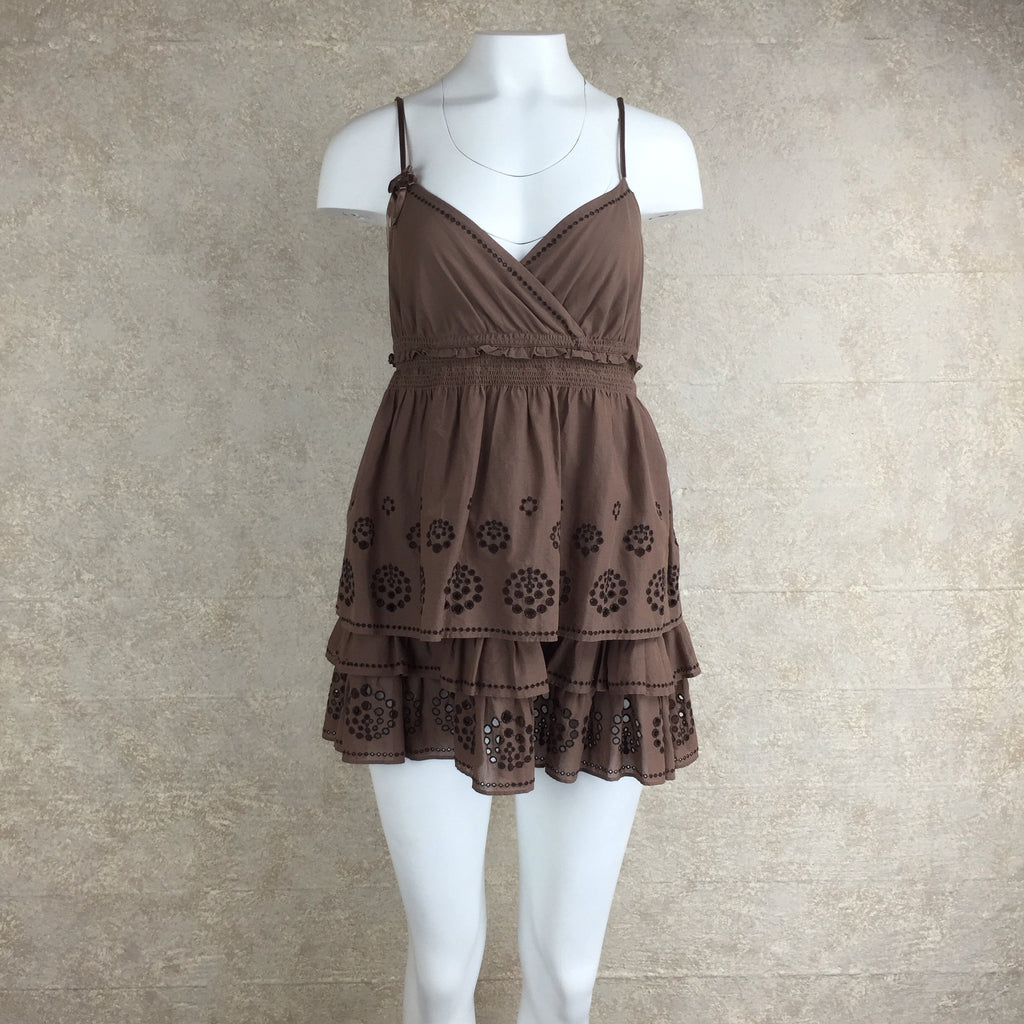 2000s JUICY COUTURE Tiered Cotton Dress,  Front