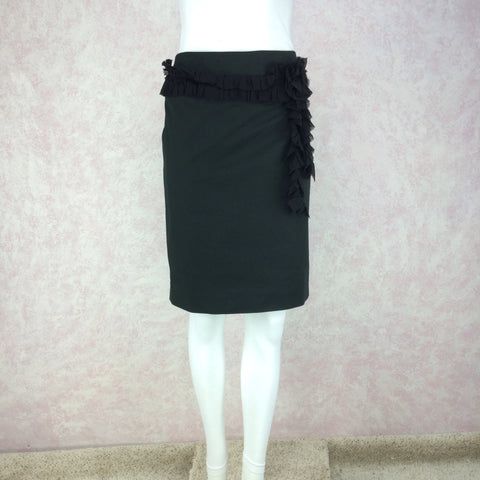 f73763dd59 Vintage 90s MOSCHINO COUTURE Short Crepe Skirt, NOS – Voguely Familiar