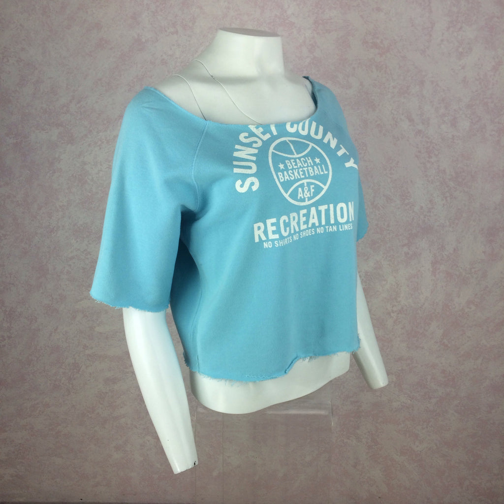 "2000s ABERCROMBIE & FITCH ""Sun & Fun"" Sweatshirt, Side"