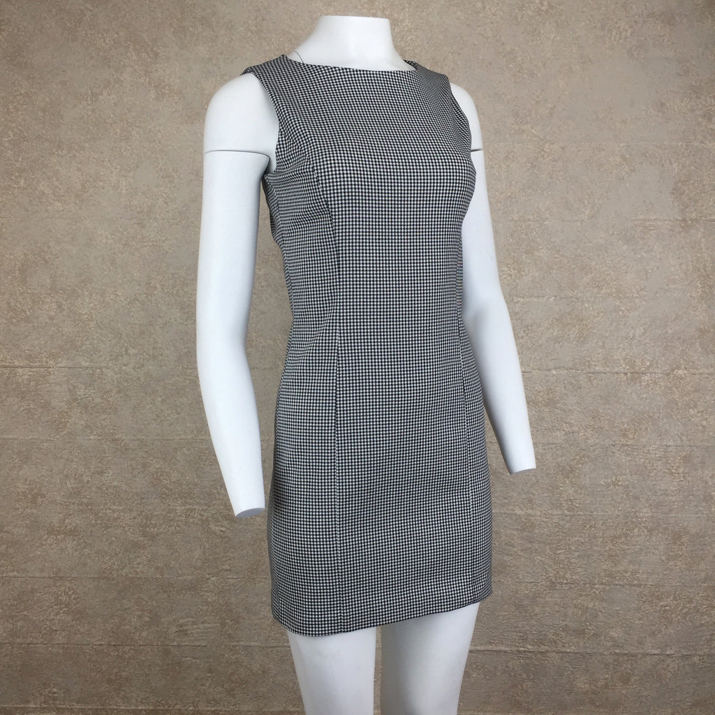 2000s CATALYST Check Sheath Dress, Side
