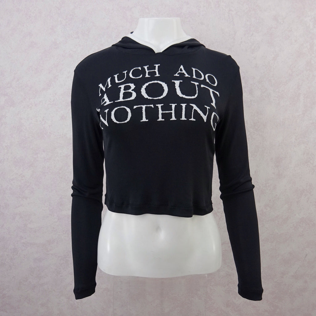 "Vintage 90s JOS ""Much Ado About Nothing"" Hoodie, NWT front 2"