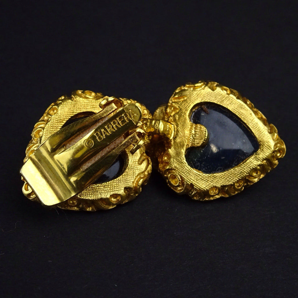 "2000s BARRERA Pendant Drop ""Fancy"" Earrings, NOSf"