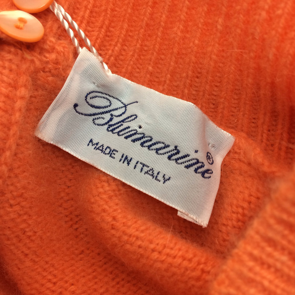 2000s BLUMARINE Orange Logo Twinset, NWT  SOLD