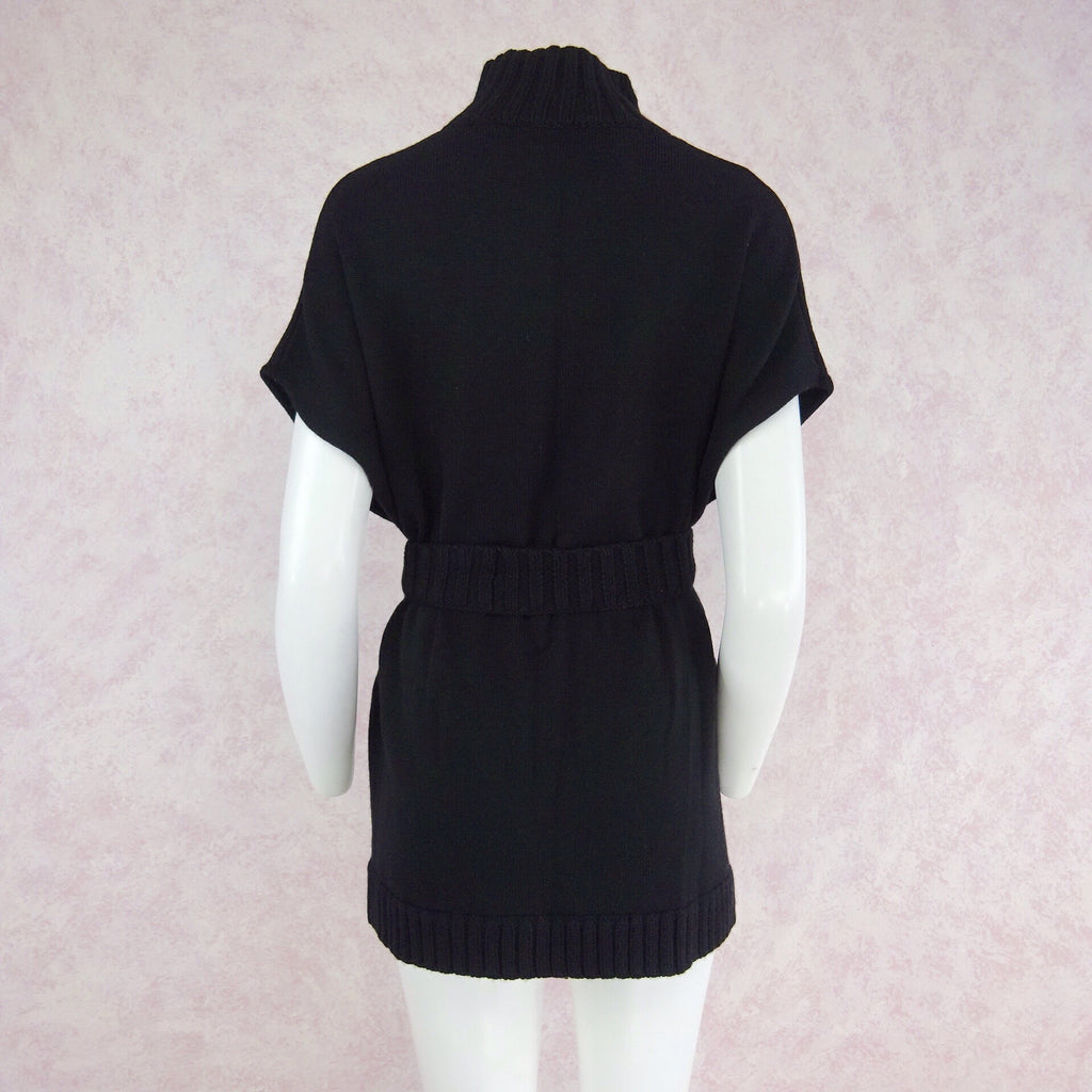 2000s ALICE + OLIVIA Sleeveless Belted Sweater, Back