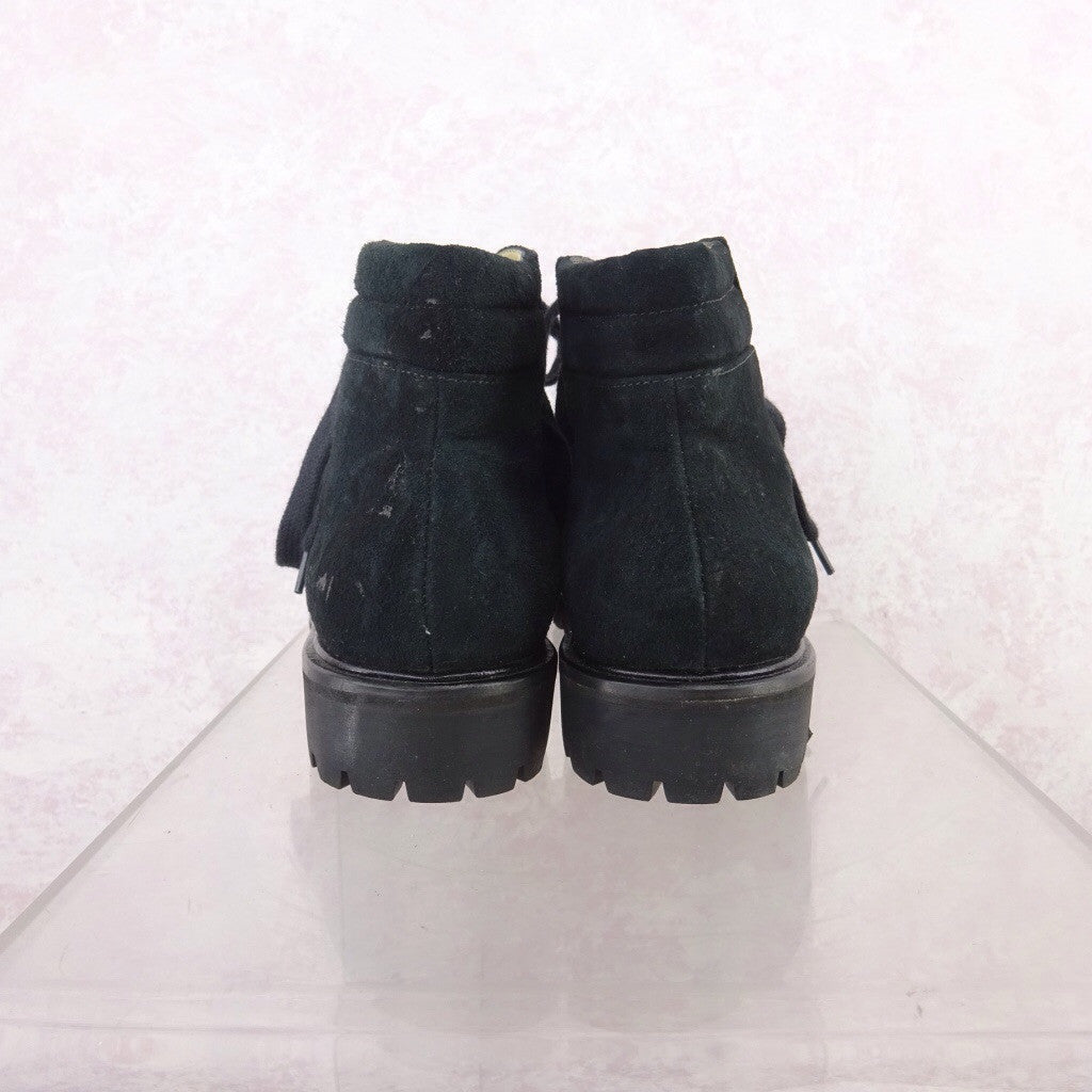 2000s Suede Lace-Up Outdoor Boots qwred