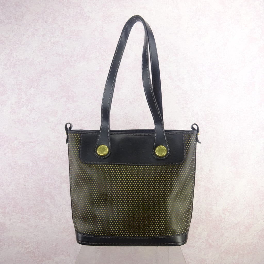 2000s DOONEY BOURKE Perforated Leather Tote