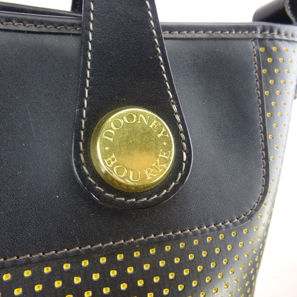 2000s DOONEY BOURKE Perforated Leather Tote kf