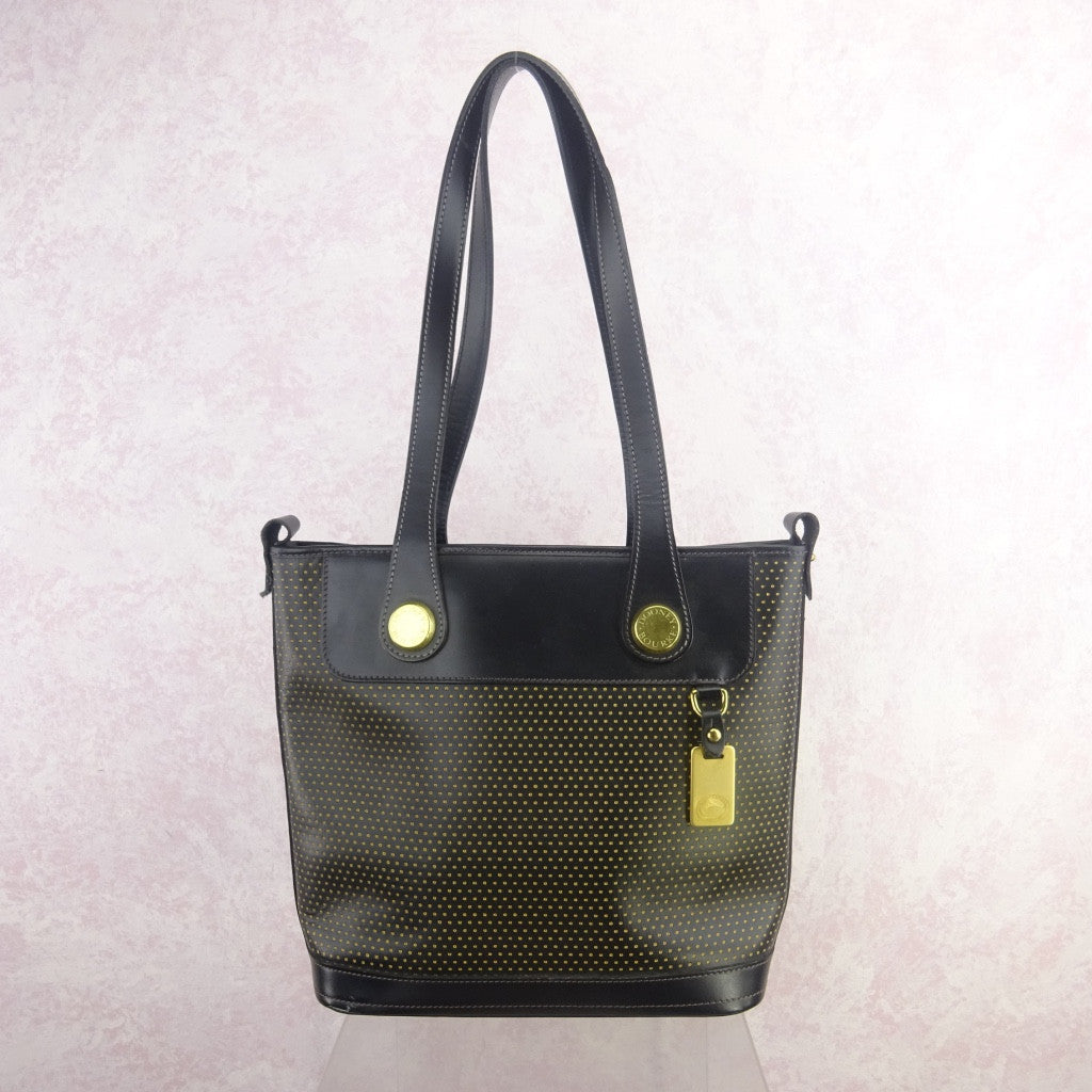 2000s DOONEY BOURKE Perforated Leather Tote sl