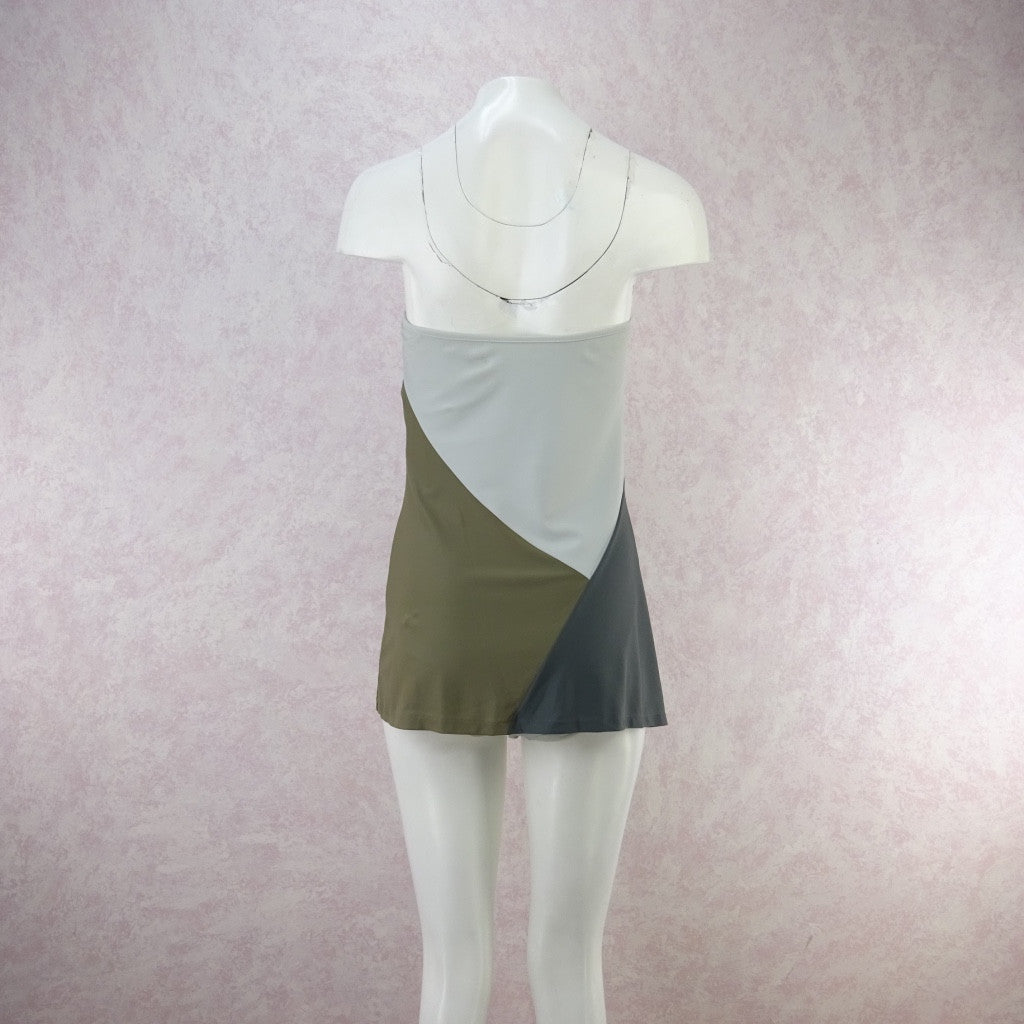 2000s TOMAS MAIER Color Blocked Jersey Swimsuit, New Old