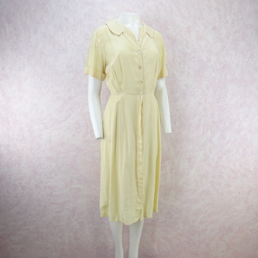 Vintage 50's Shirt Dress for Golf fd
