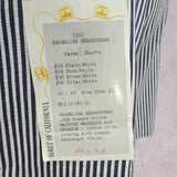 Vintage 50s KORET Striped Cotton Seersucker Shorts, NWT e