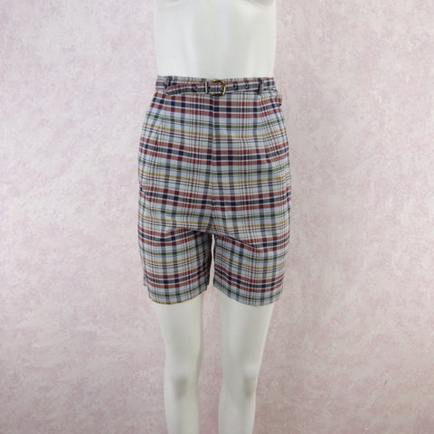 Vintage 50s KORET Striped Seersucker Shorts, New With Tags