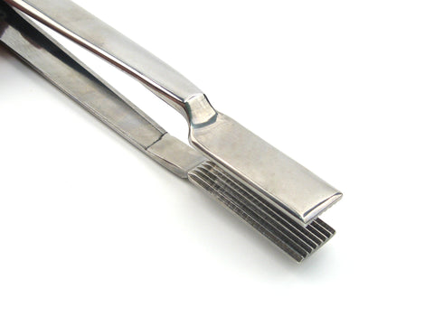 Glassworking crimps for when you need a narrow linear texture, Rigadin Strette (in Italian narrow lines).