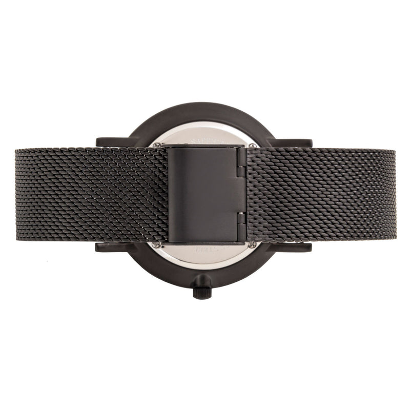 Deva 40mm 1st Edition - Matte Black Chain Metal - Burtley & Baines  - 3
