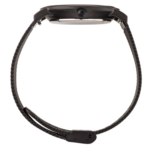 Deva 40mm 1st Edition - Matte Black Chain Metal - Burtley & Baines  - 2