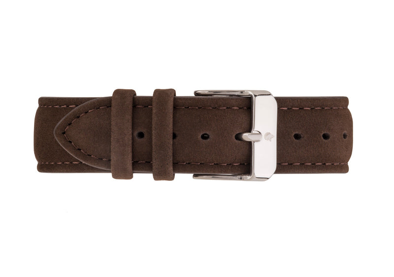 Brown Suede Strap - Burtley & Baines  - 1