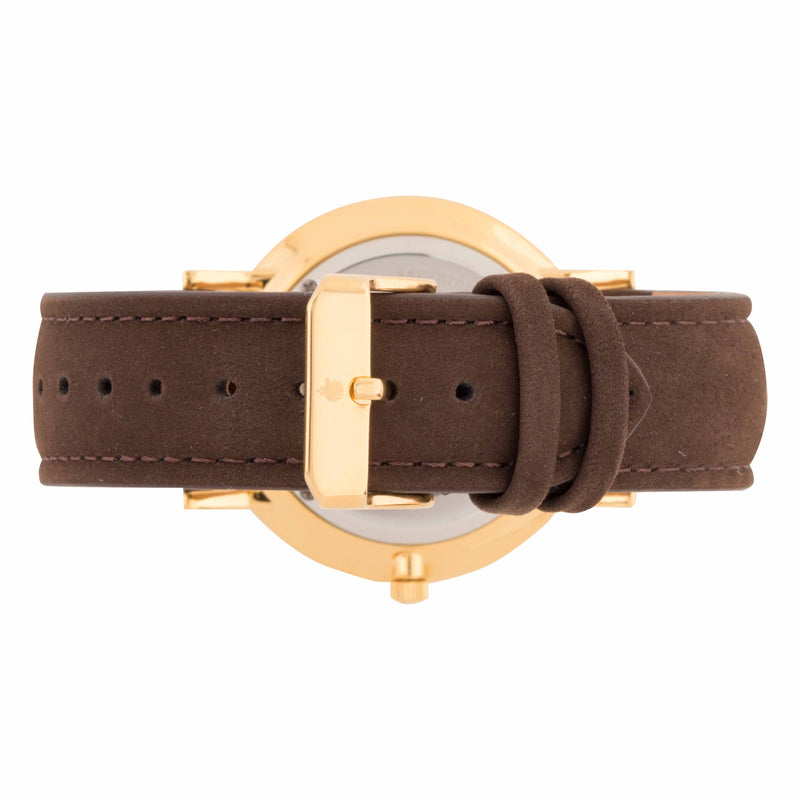 Deva 40mm 1st Edition - Brown Suede - Burtley & Baines  - 3