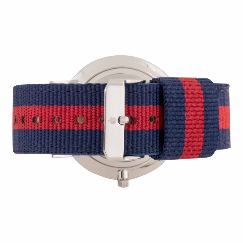 Deva 40mm 1st Edition - Red & Blue NATO - Burtley & Baines  - 3