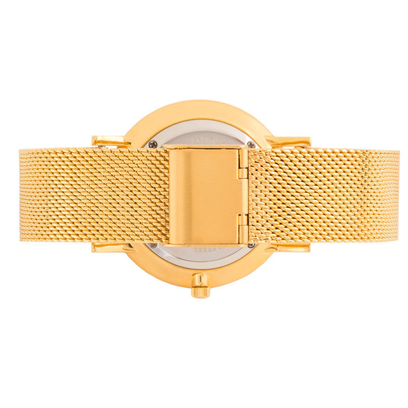 Deva 40mm 1st Edition - Gold Chain Metal - Burtley & Baines  - 3