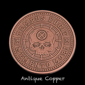 Carpe Diem Coin - Antique Copper (front)