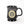 Load image into Gallery viewer, Carpe Diem Coffee Mug - Black (front)