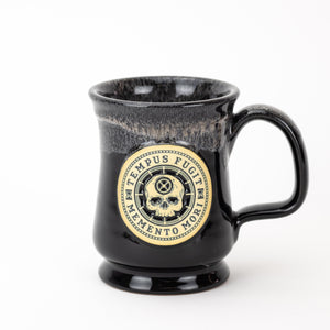 Carpe Diem Coffee Mug - Black (front)