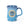 Load image into Gallery viewer, Carpe Diem Coffee Mug - Blue (front)