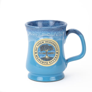 Carpe Diem Coffee Mug - Blue (front)