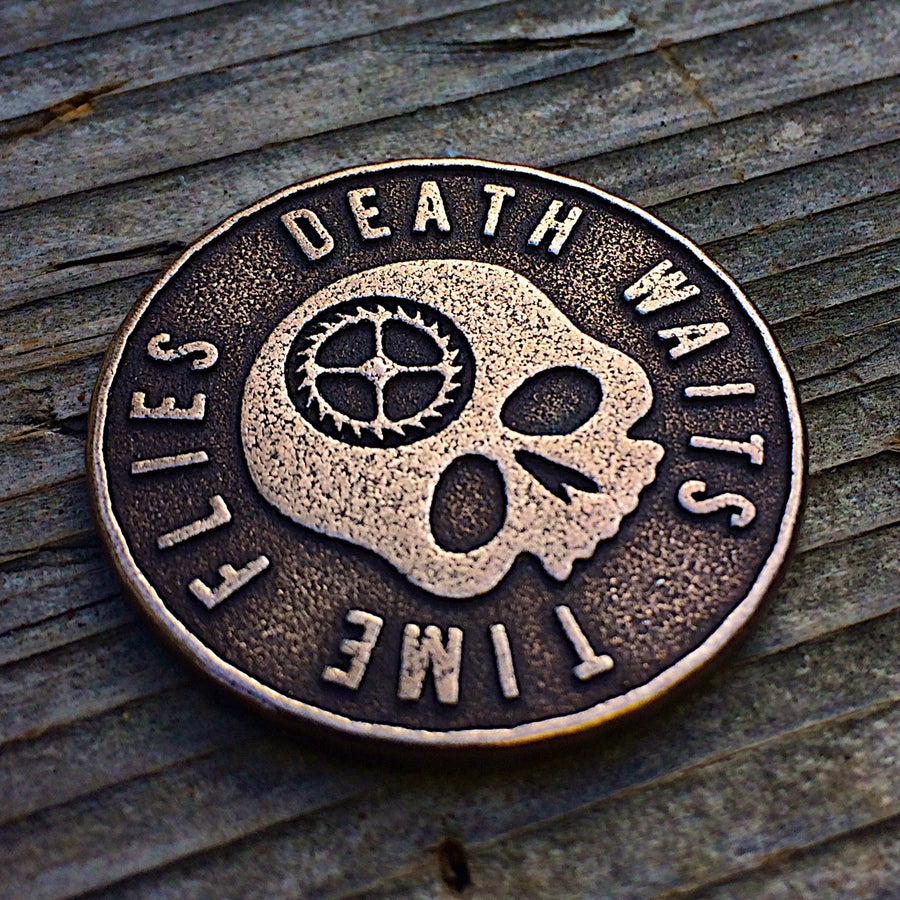 Carpe Diem Coin - Time Flies, Death Waits
