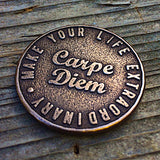 original carpe diem coin