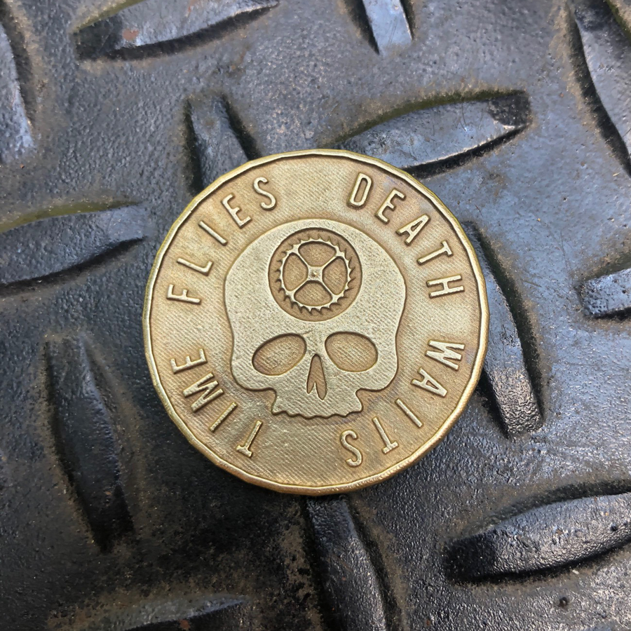 Original Carpe Diem Coin - Solid Brass