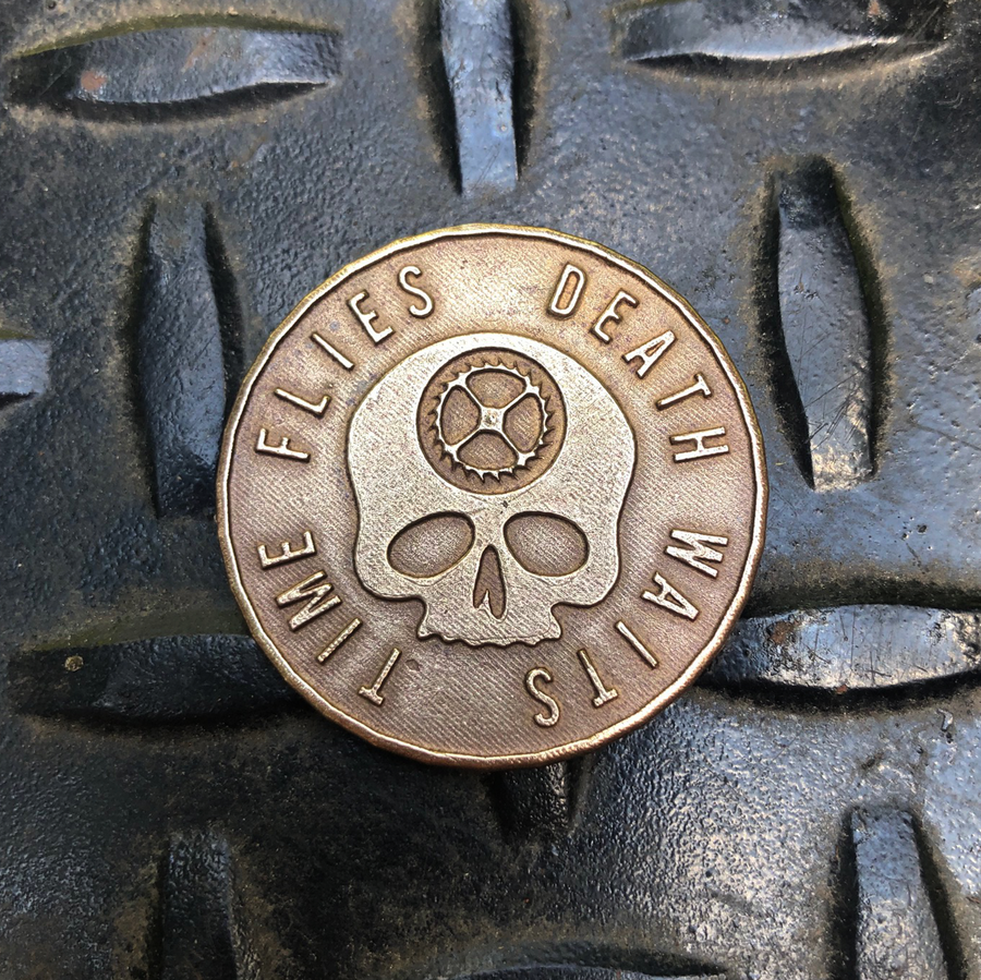 Original Carpe Diem Coin - Solid Bronze