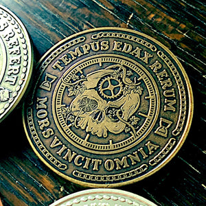 Carpe Noctem Coins - Seize the Night! - Carpe Diem EDC