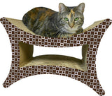 Tower 4-Way, 2-in-1 Cat Scratcher