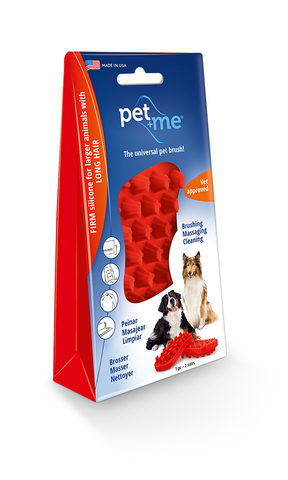 Pet+Me® Long Hair Large Breed Dog Brush