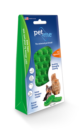 Pet+Me® Long Hair Cat Brush